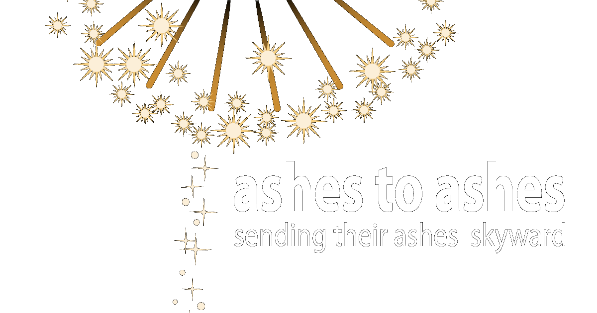 ashes to ashes fireworks funerals